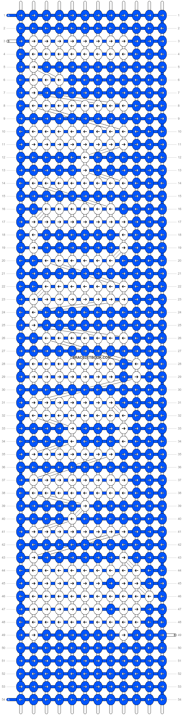 Alpha pattern #19221 pattern