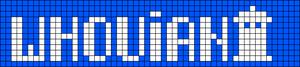 Alpha Friendship Bracelet Pattern #19221