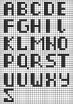 Alpha Friendship Bracelet Pattern #19222