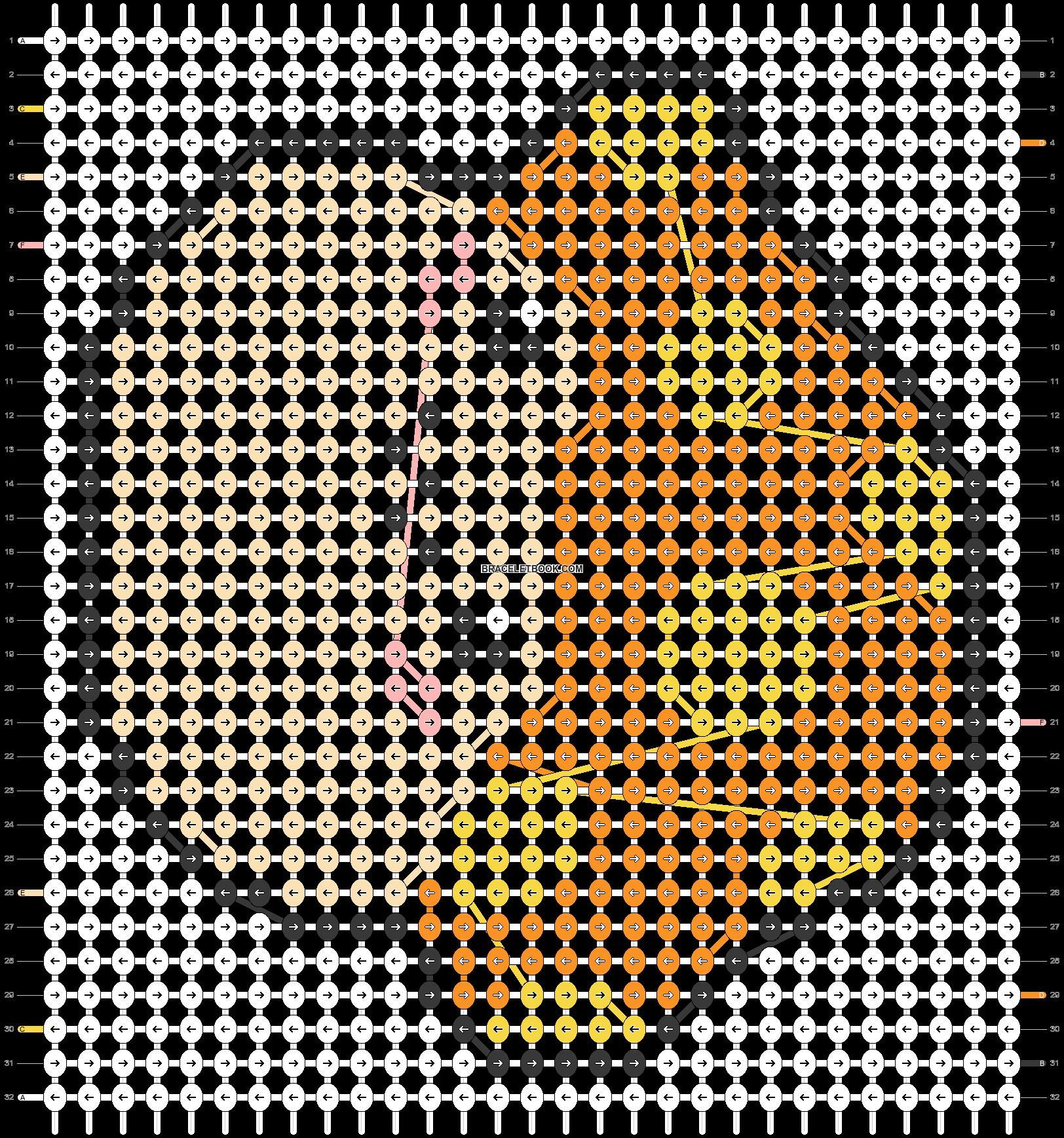 Alpha pattern #19226 pattern