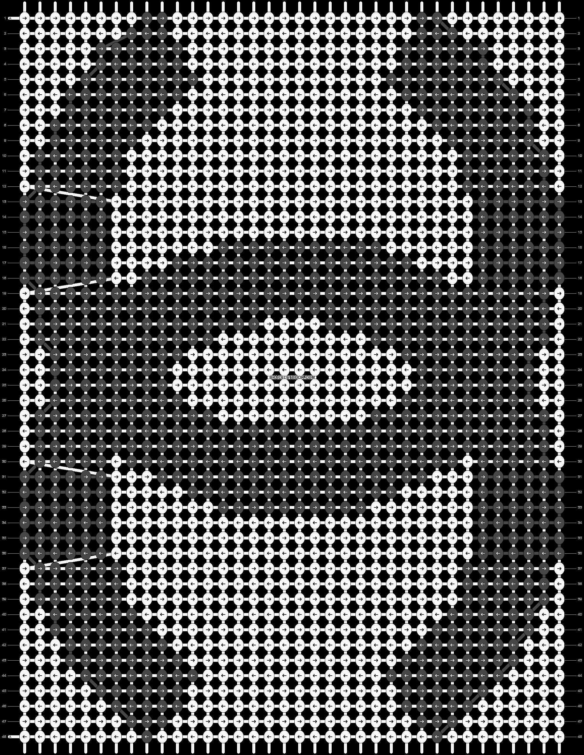 Alpha pattern #19230 pattern