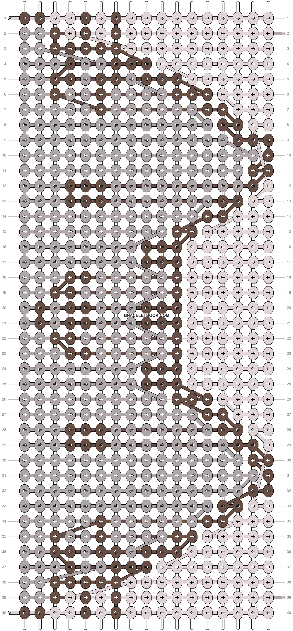 Alpha pattern #19244 pattern