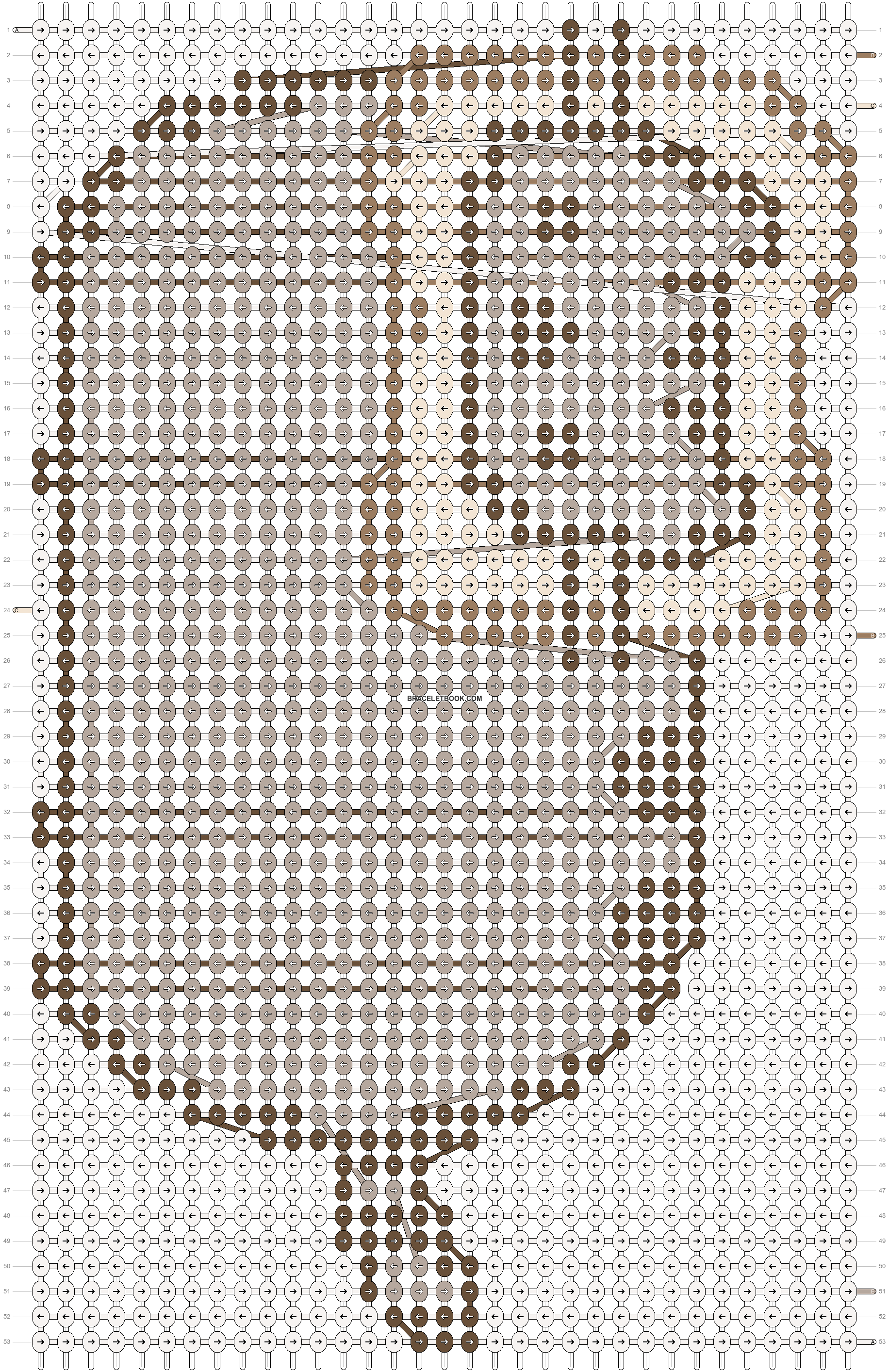 Alpha pattern #19245 pattern