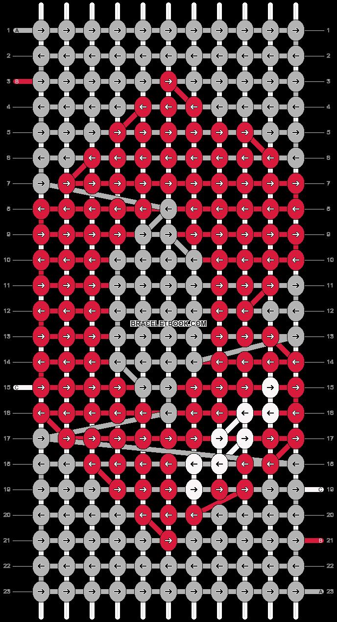 Alpha pattern #19248 pattern