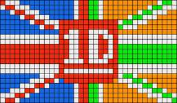 Alpha pattern #19251
