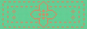 Alpha pattern #19255