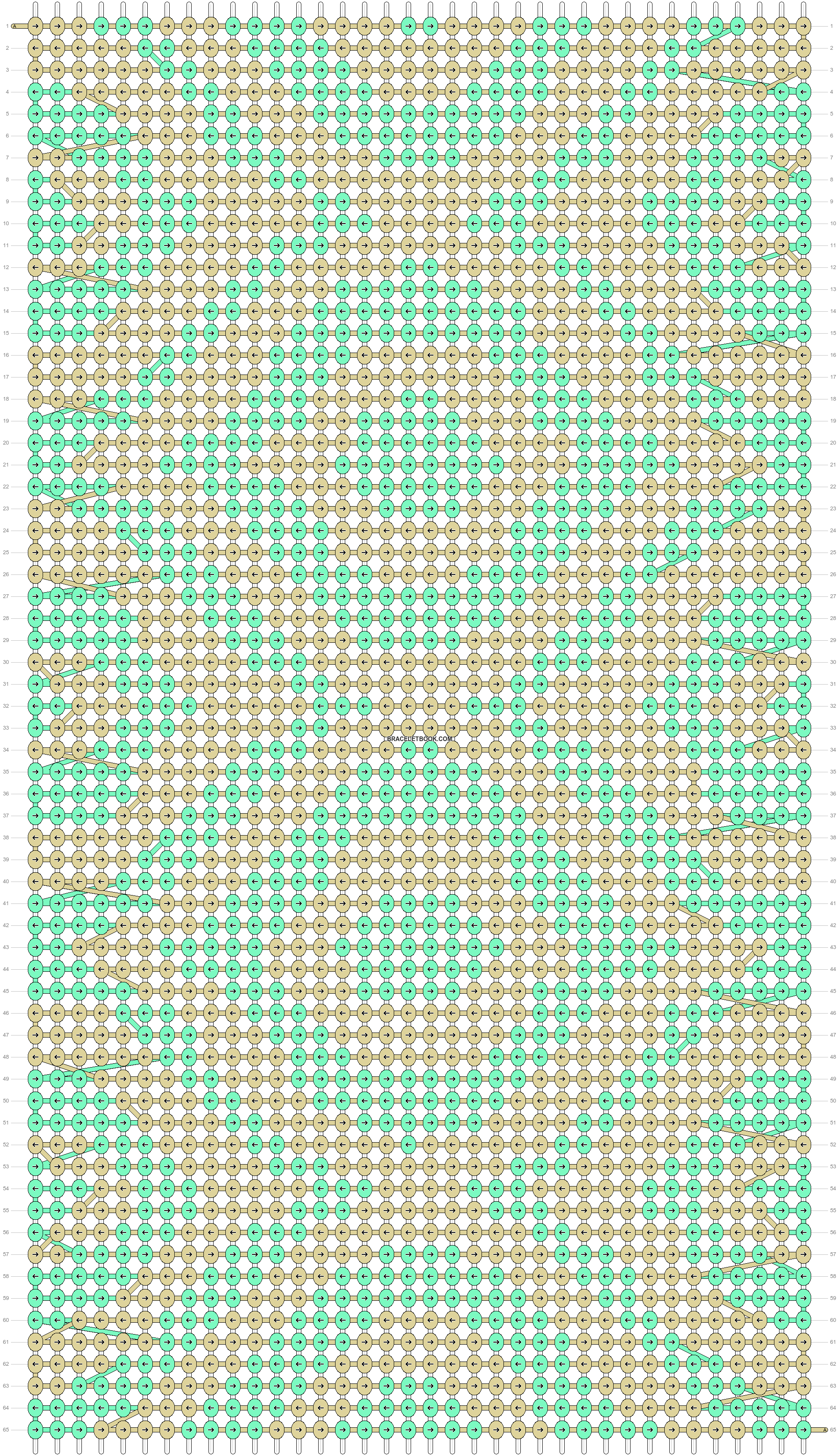 Alpha pattern #19257 pattern