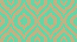 Alpha pattern #19257