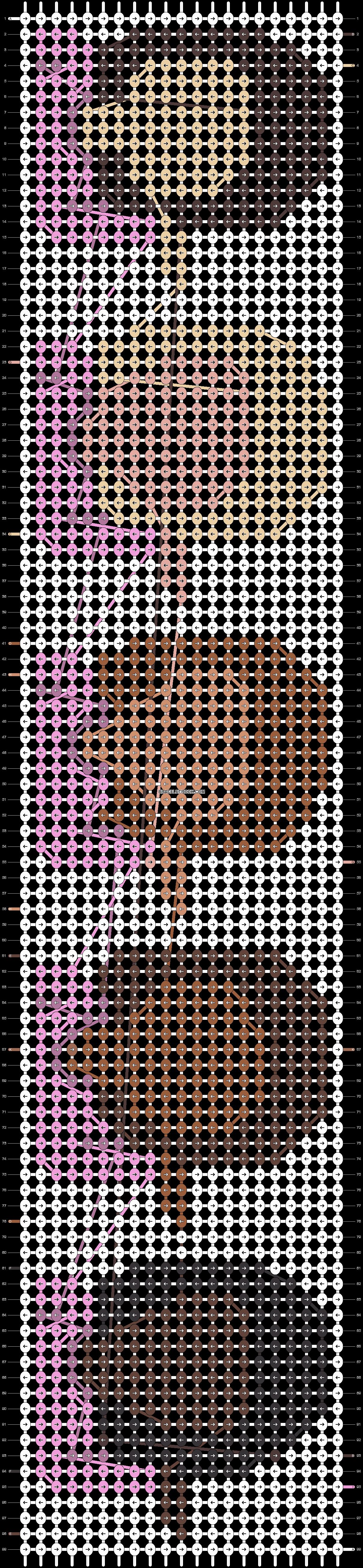 Alpha pattern #19264 pattern