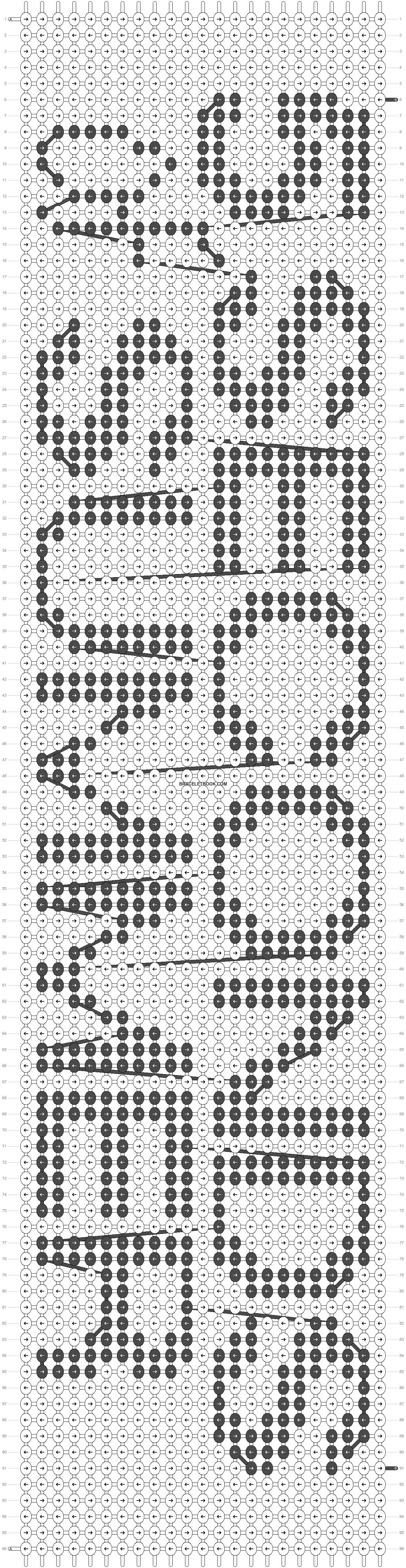 Alpha pattern #19268 pattern