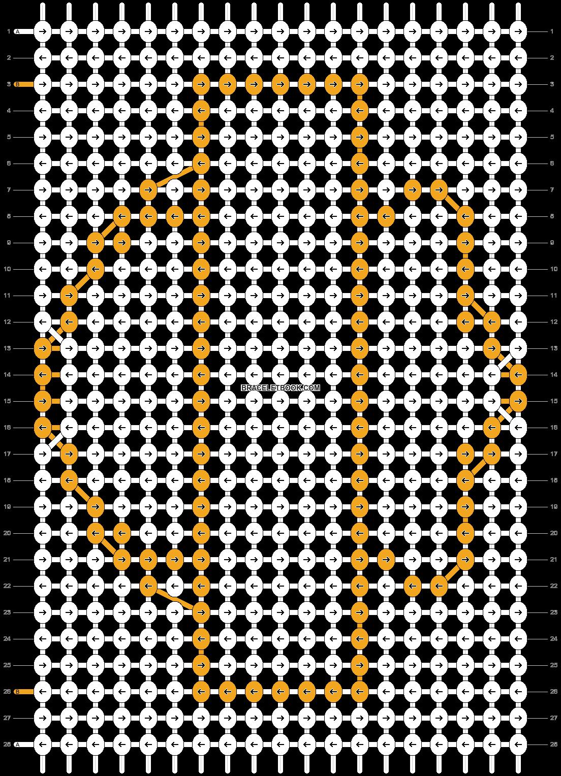 Alpha pattern #19270 pattern