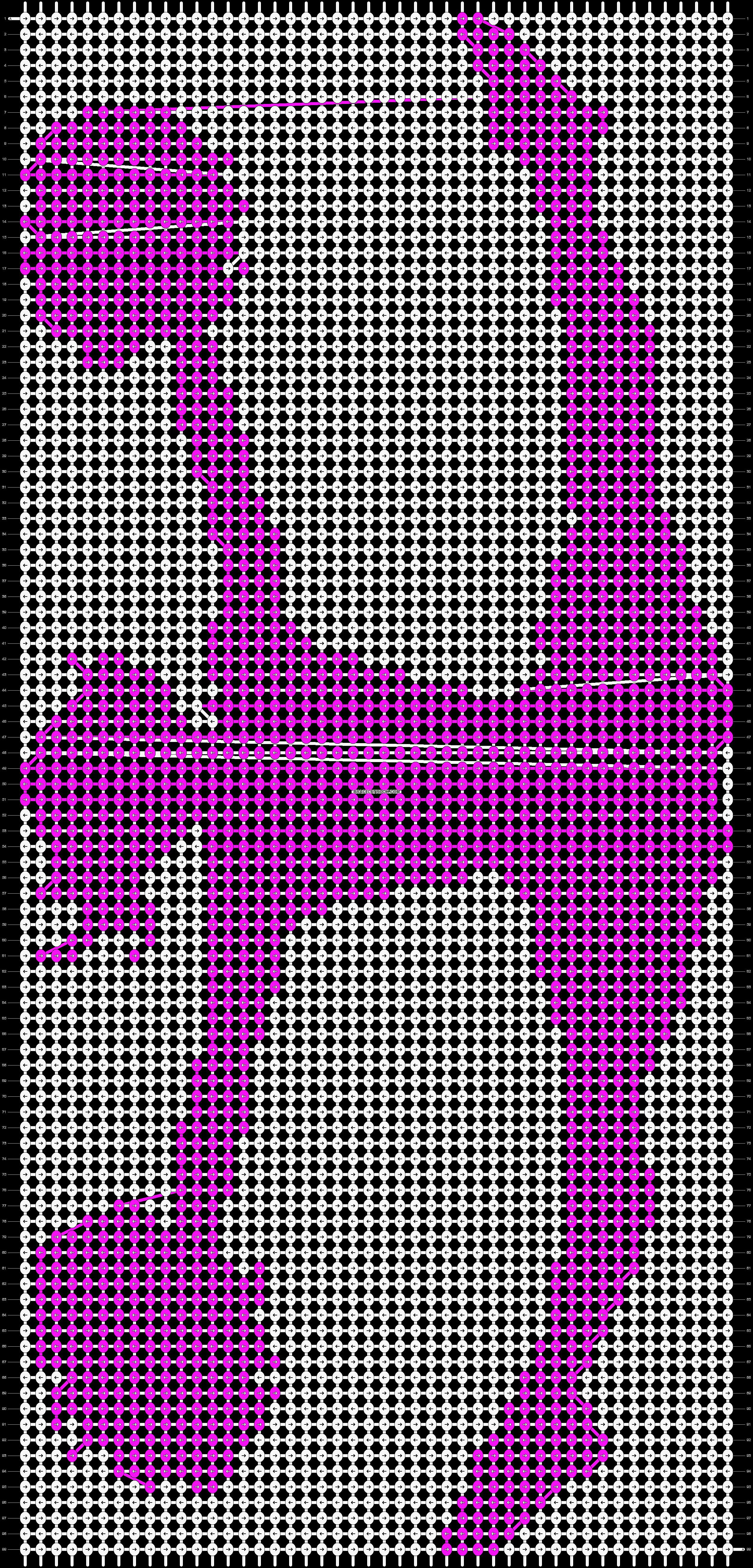 Alpha pattern #19272 pattern
