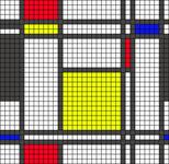 Alpha pattern #19275