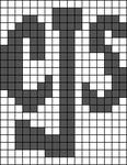 Alpha Friendship Bracelet Pattern #19279
