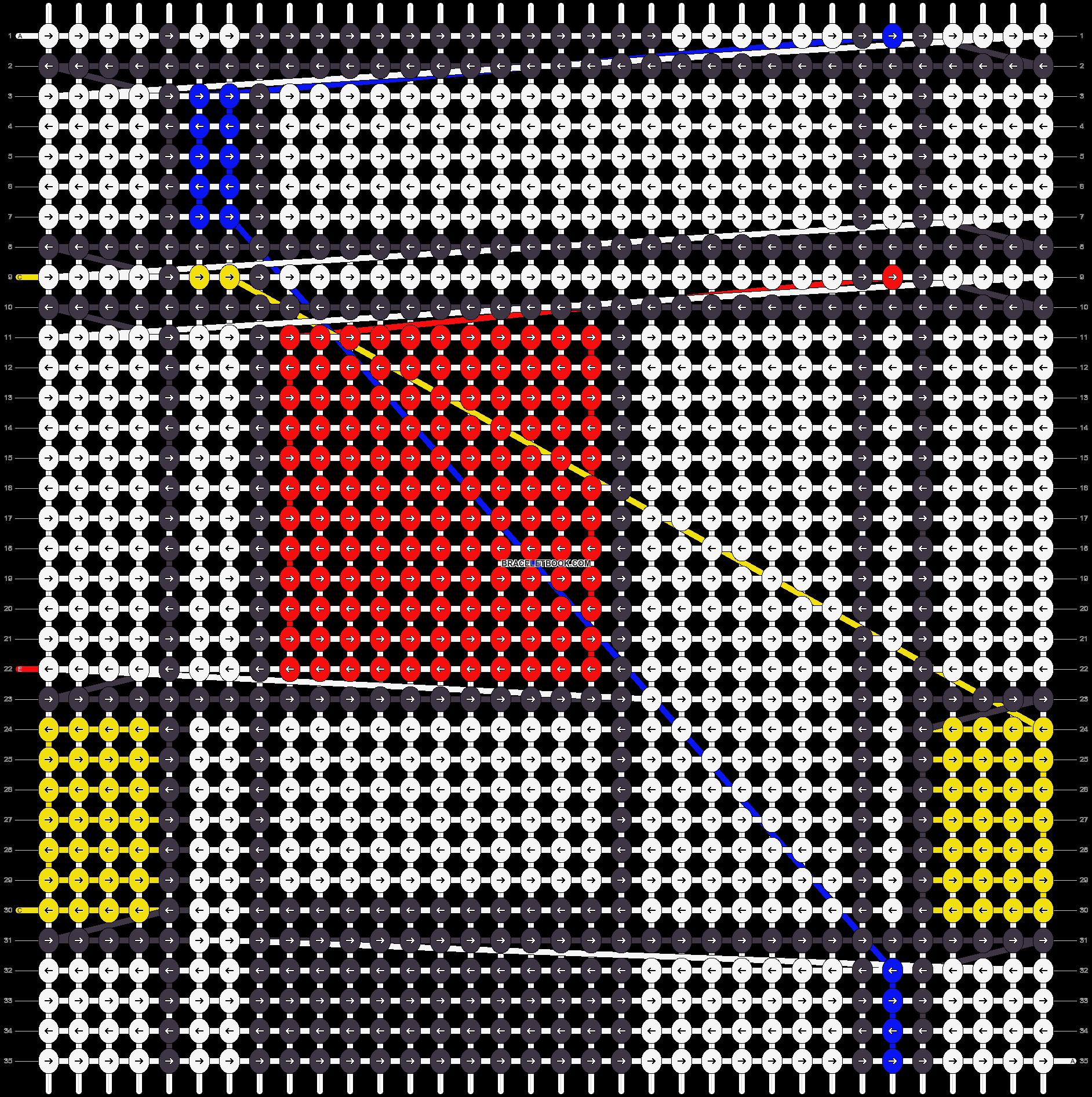 Alpha pattern #19281 pattern