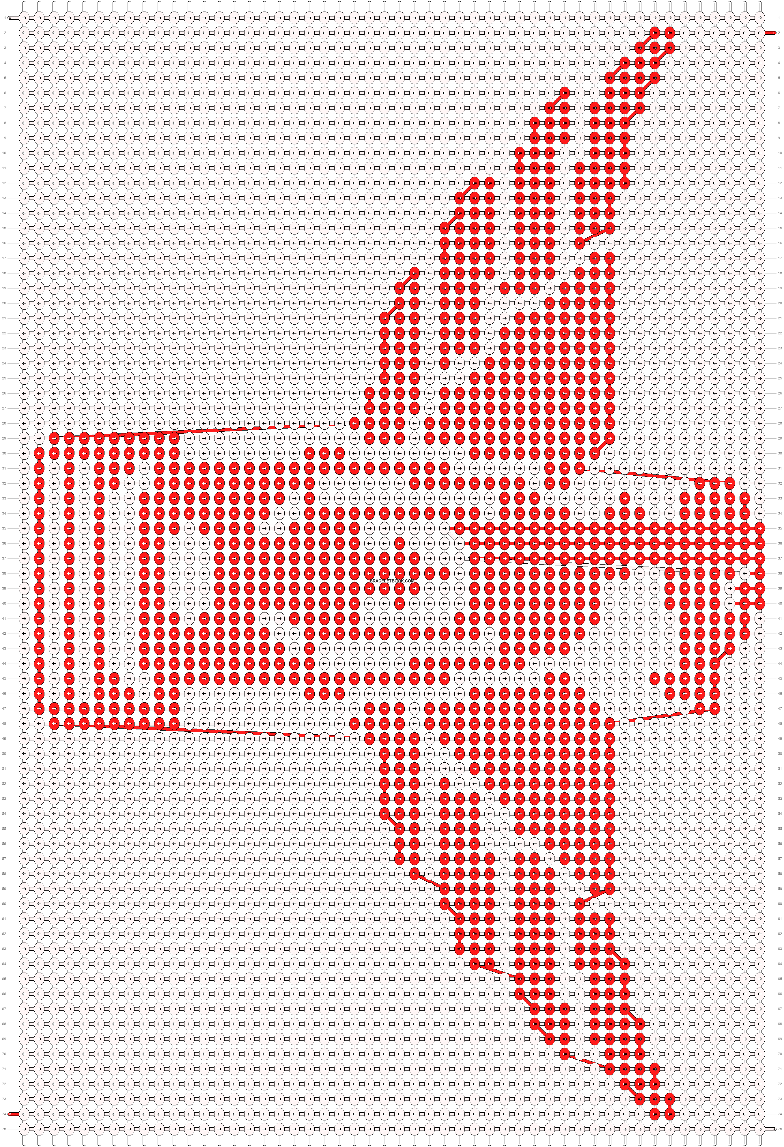 Alpha pattern #19283 pattern