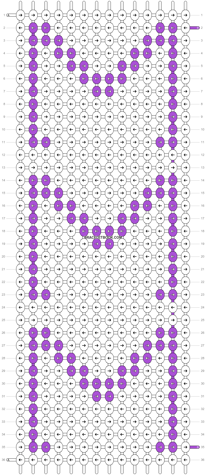 Alpha pattern #19285 pattern