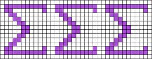 Alpha pattern #19285