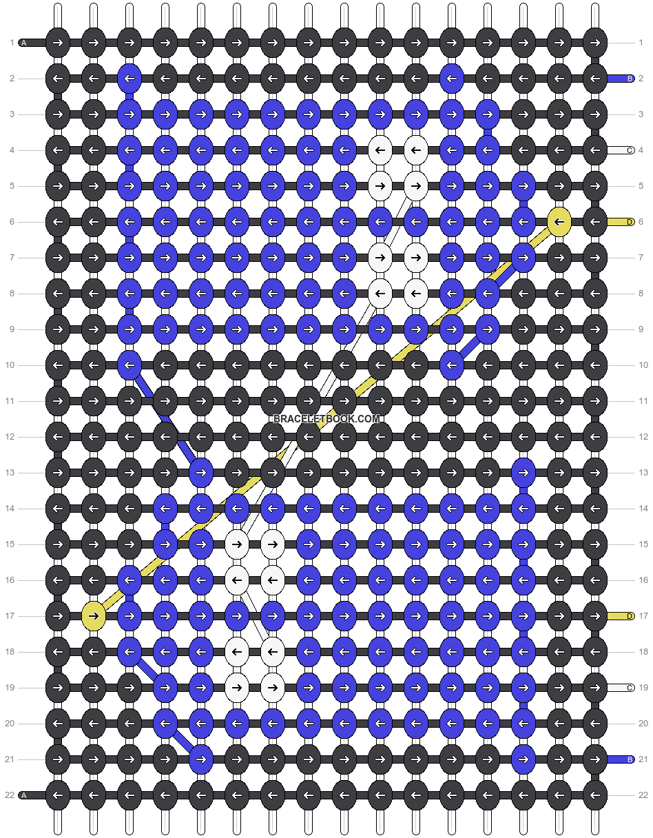 Alpha pattern #19288 pattern