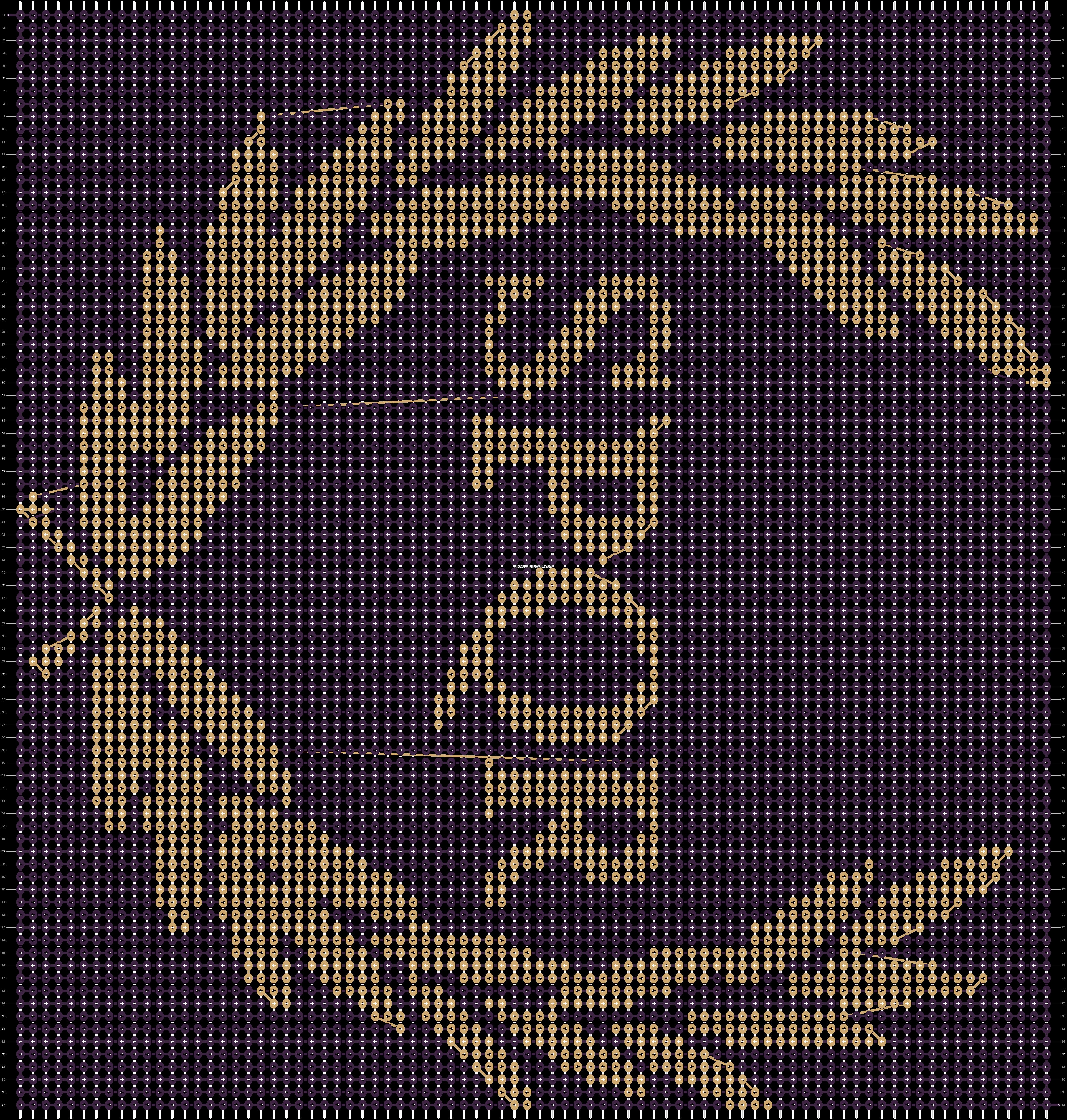 Alpha pattern #19289 pattern