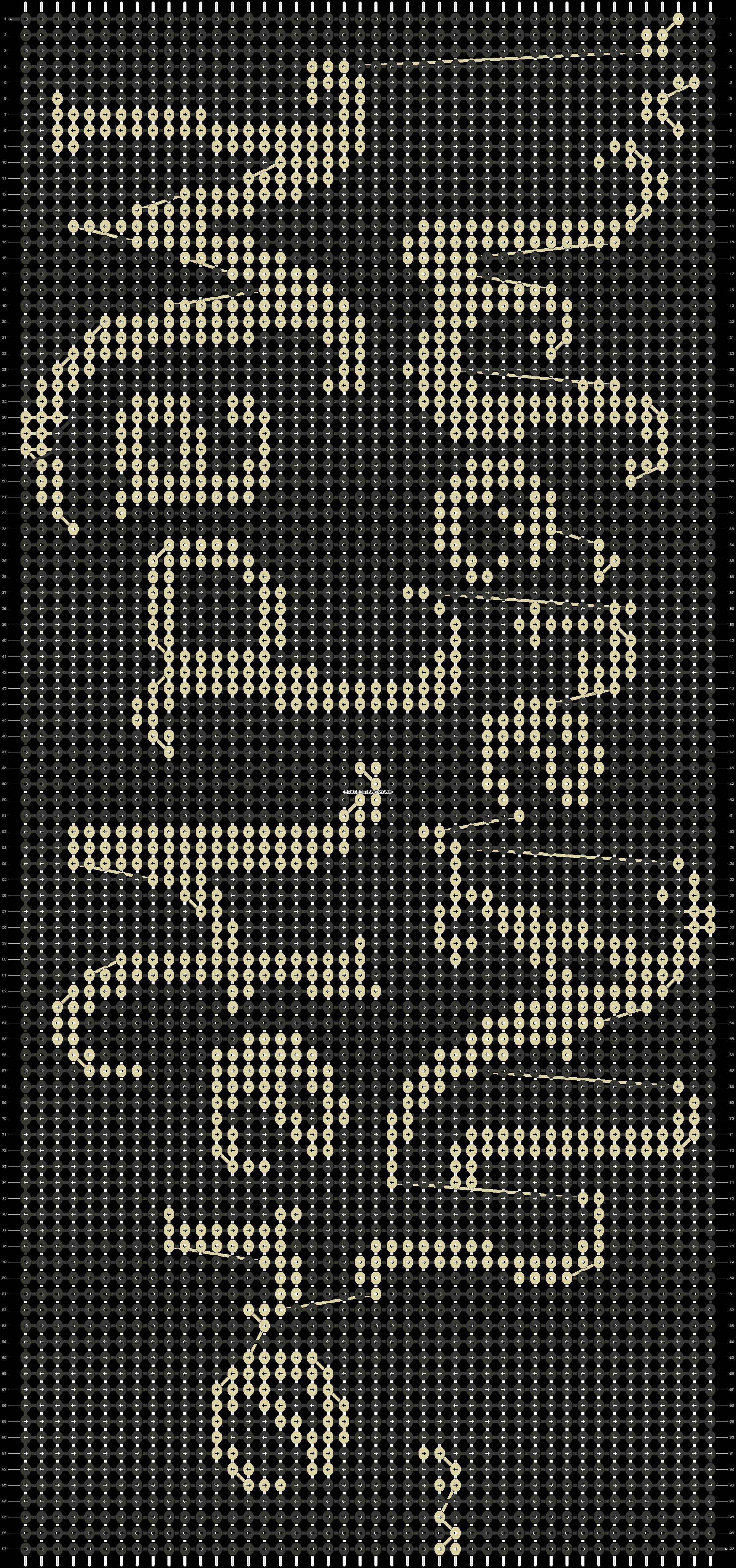 Alpha pattern #19290 pattern