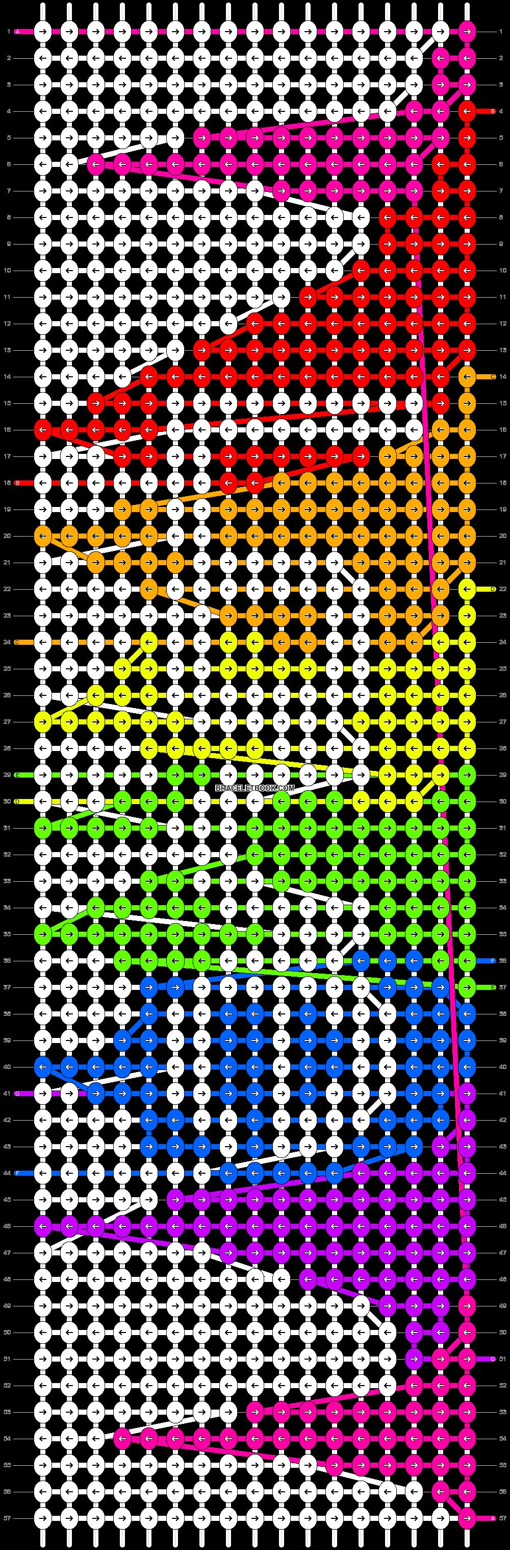 Alpha pattern #19292 pattern