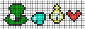 Alpha pattern #19294