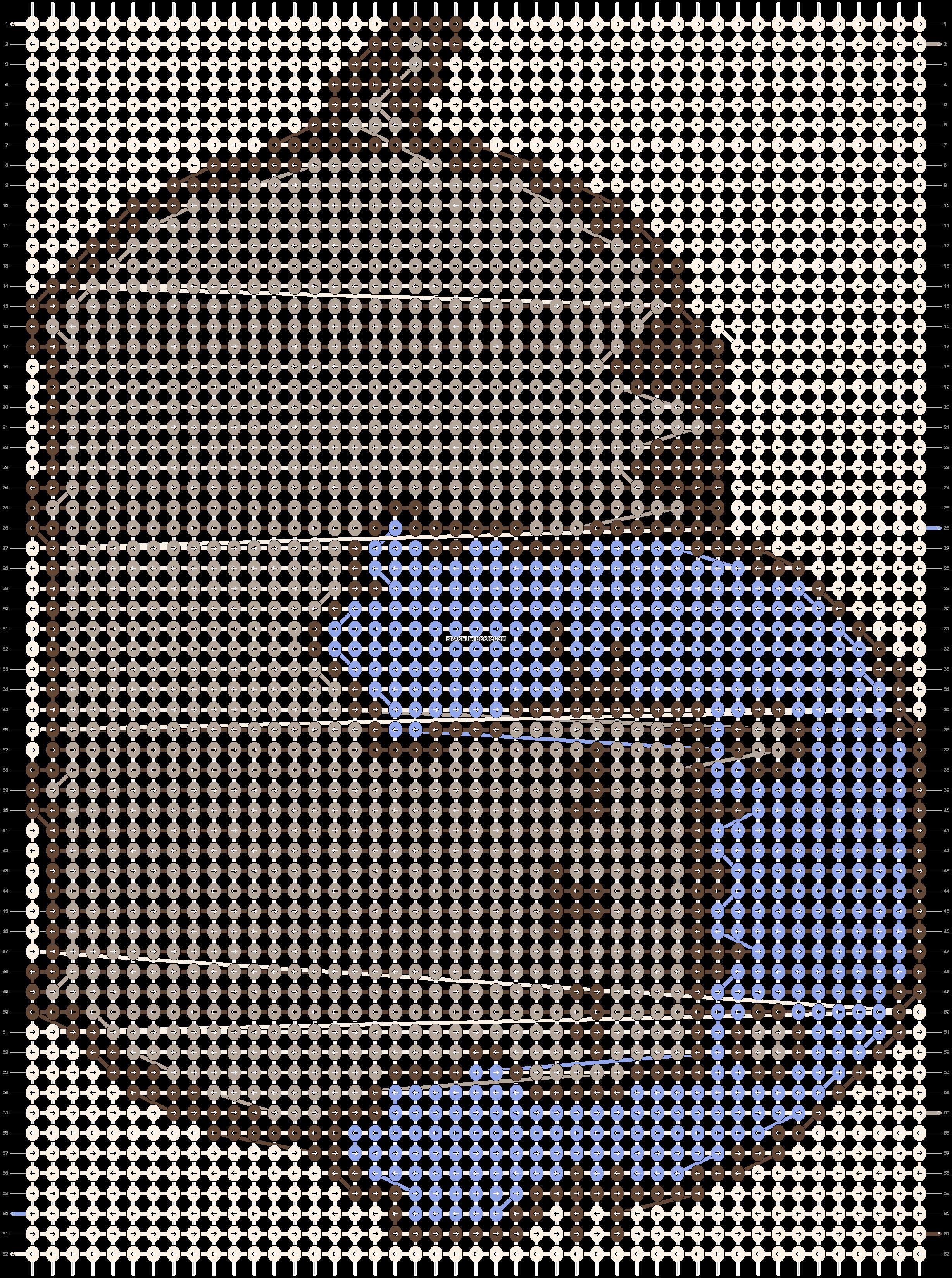 Alpha pattern #19295 pattern