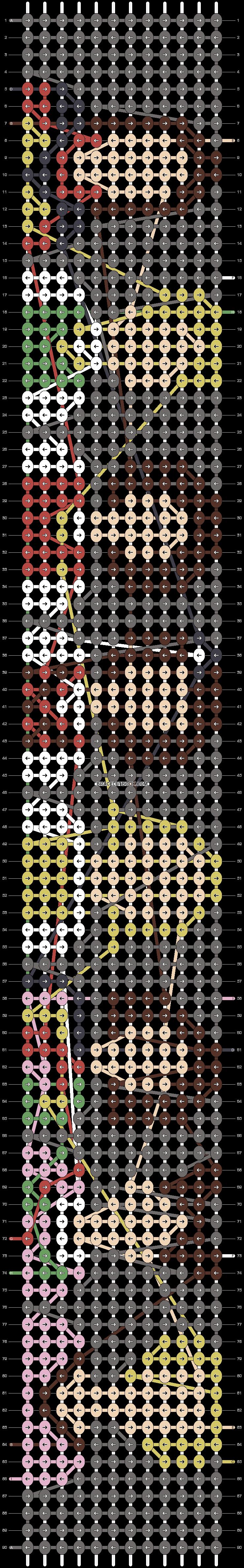 Alpha pattern #19298 pattern