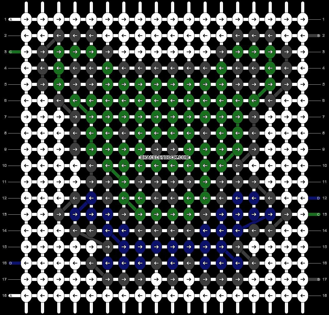 Alpha pattern #19300 pattern