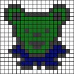 Alpha pattern #19300