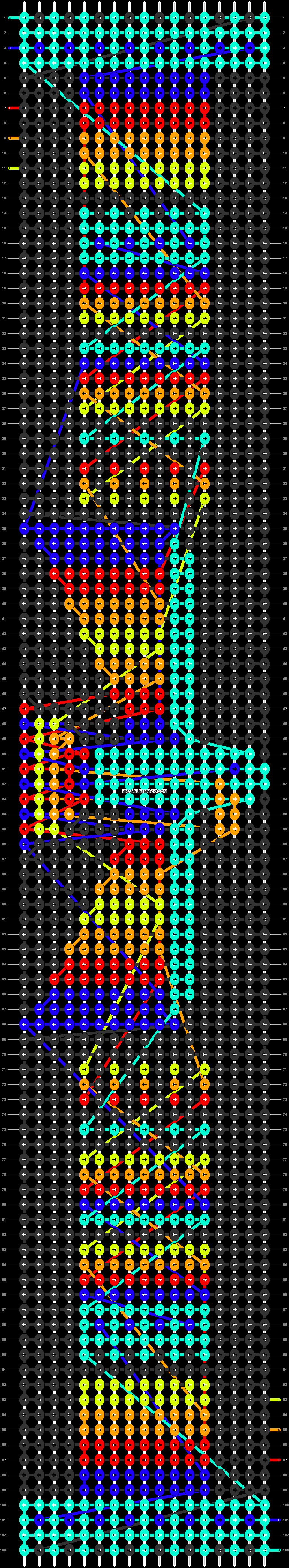 Alpha pattern #19302 pattern
