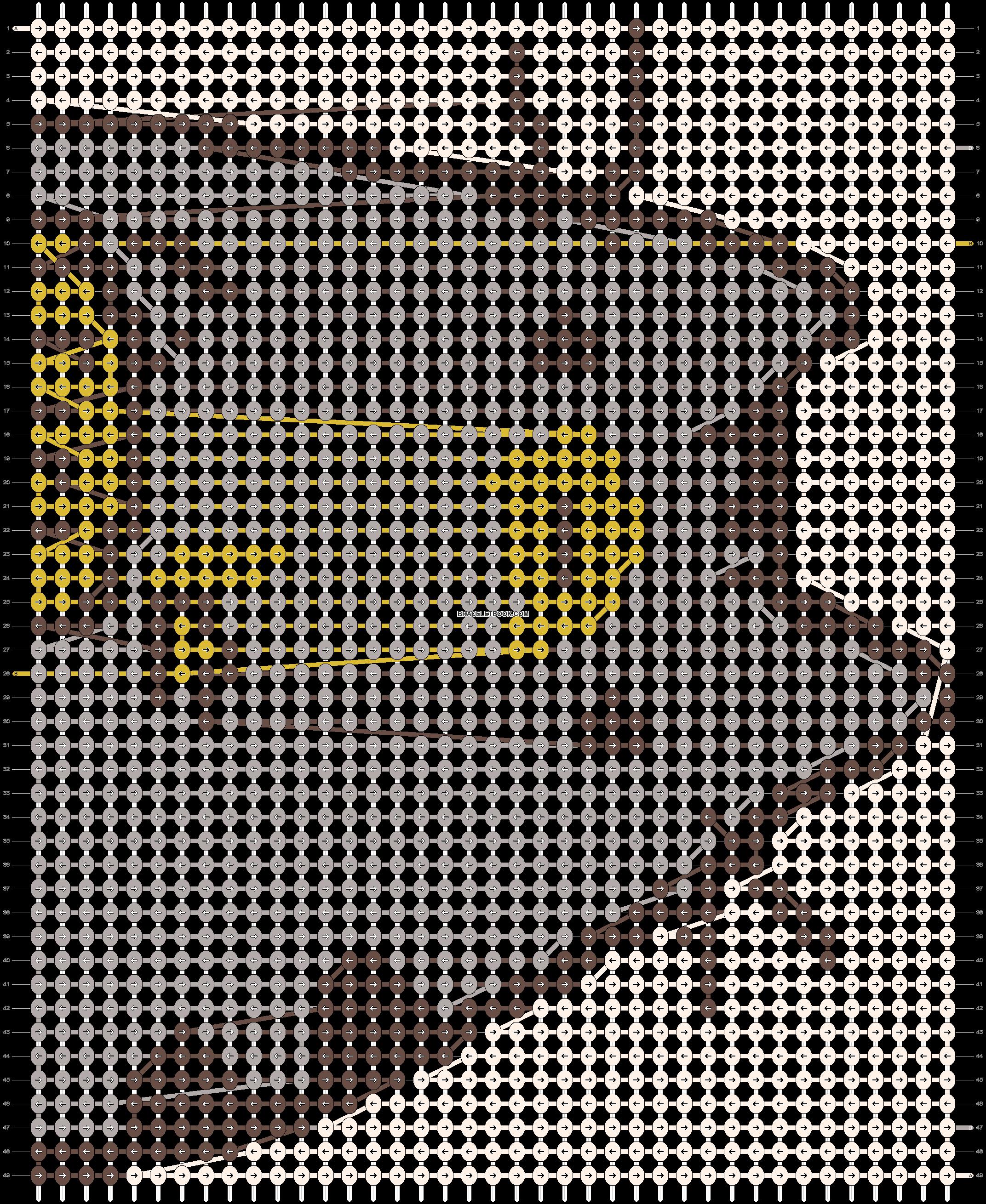 Alpha pattern #19303 pattern