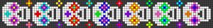 Alpha Friendship Bracelet Pattern #19305