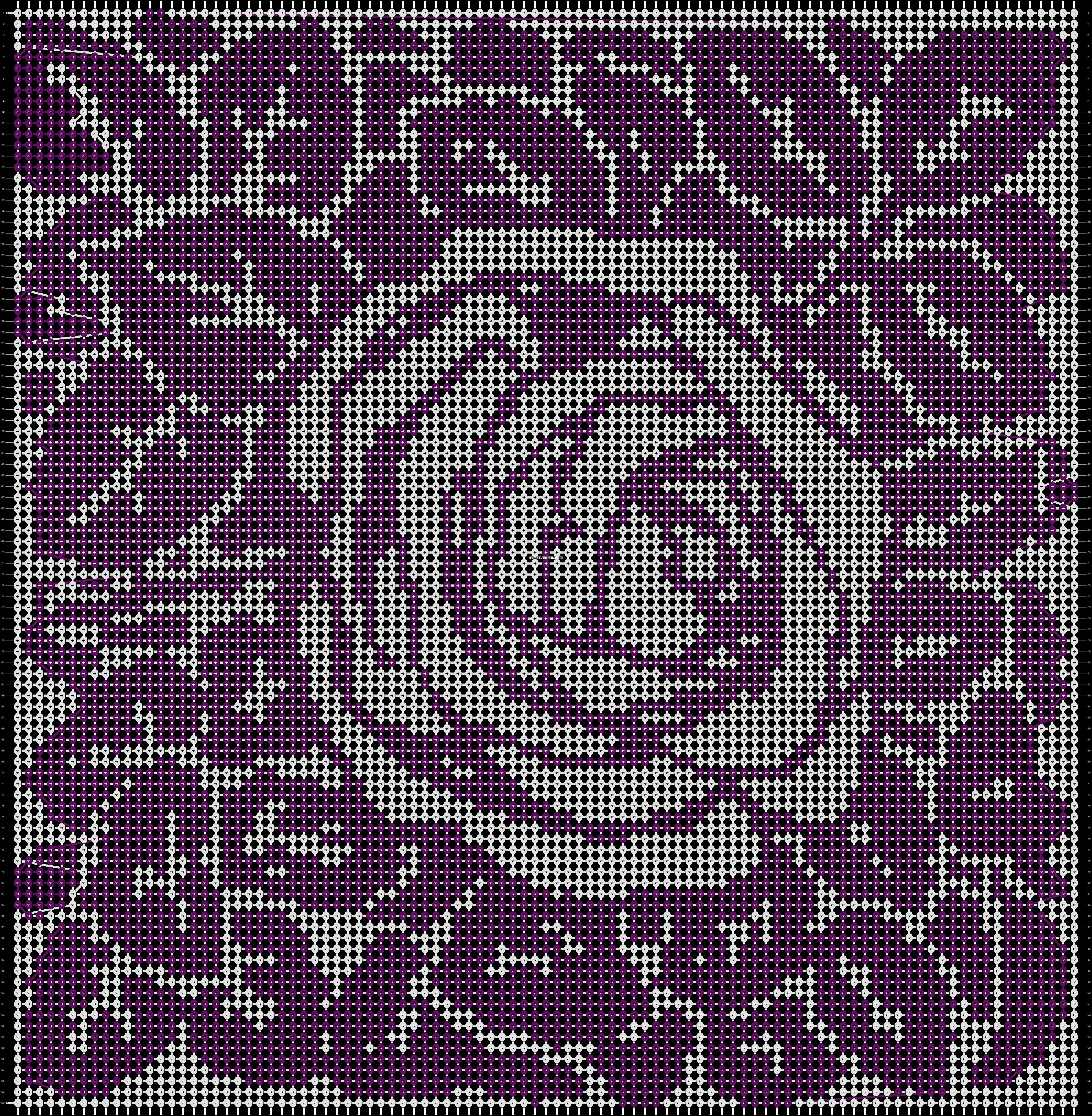 Alpha pattern #19311 pattern