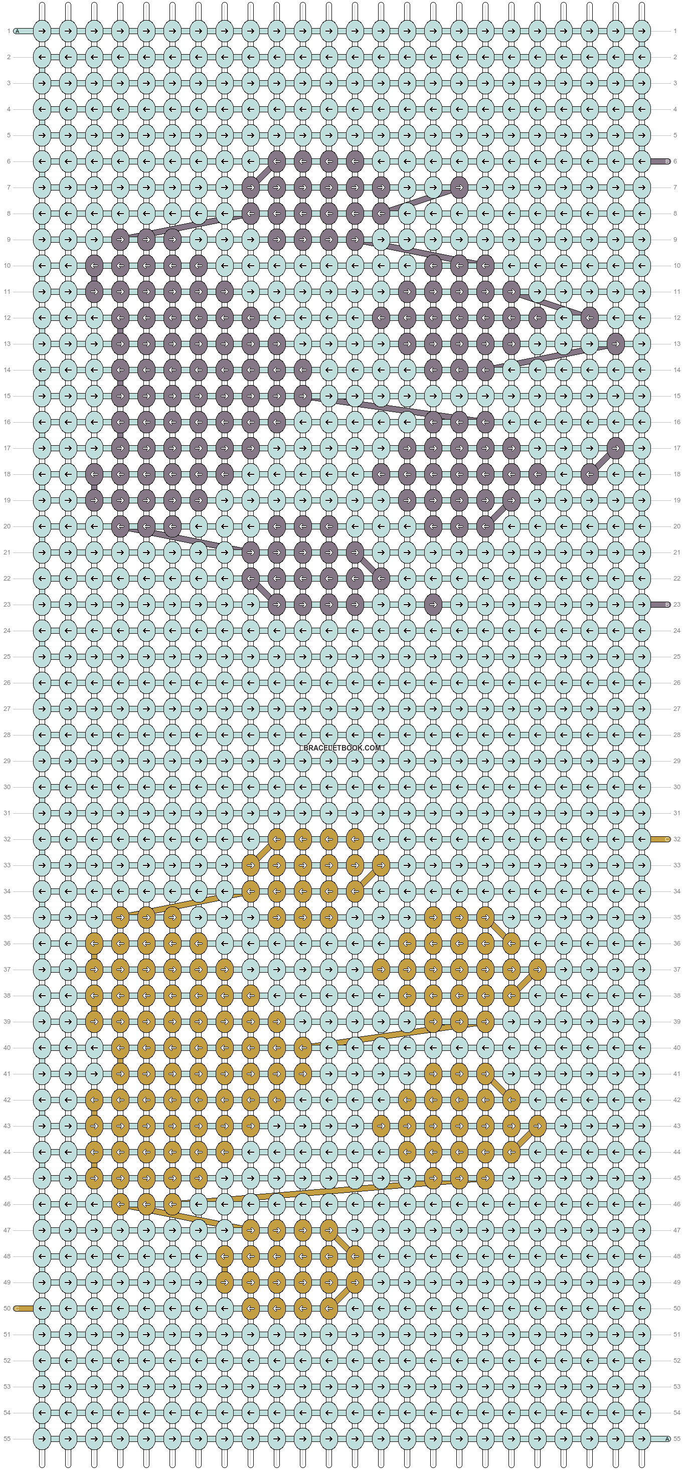 Alpha pattern #19312 pattern