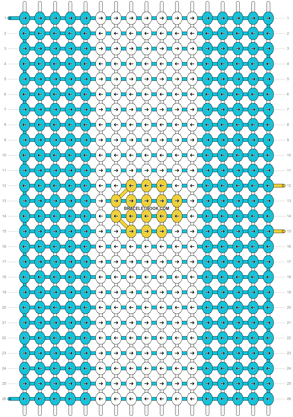 Alpha pattern #19314 pattern