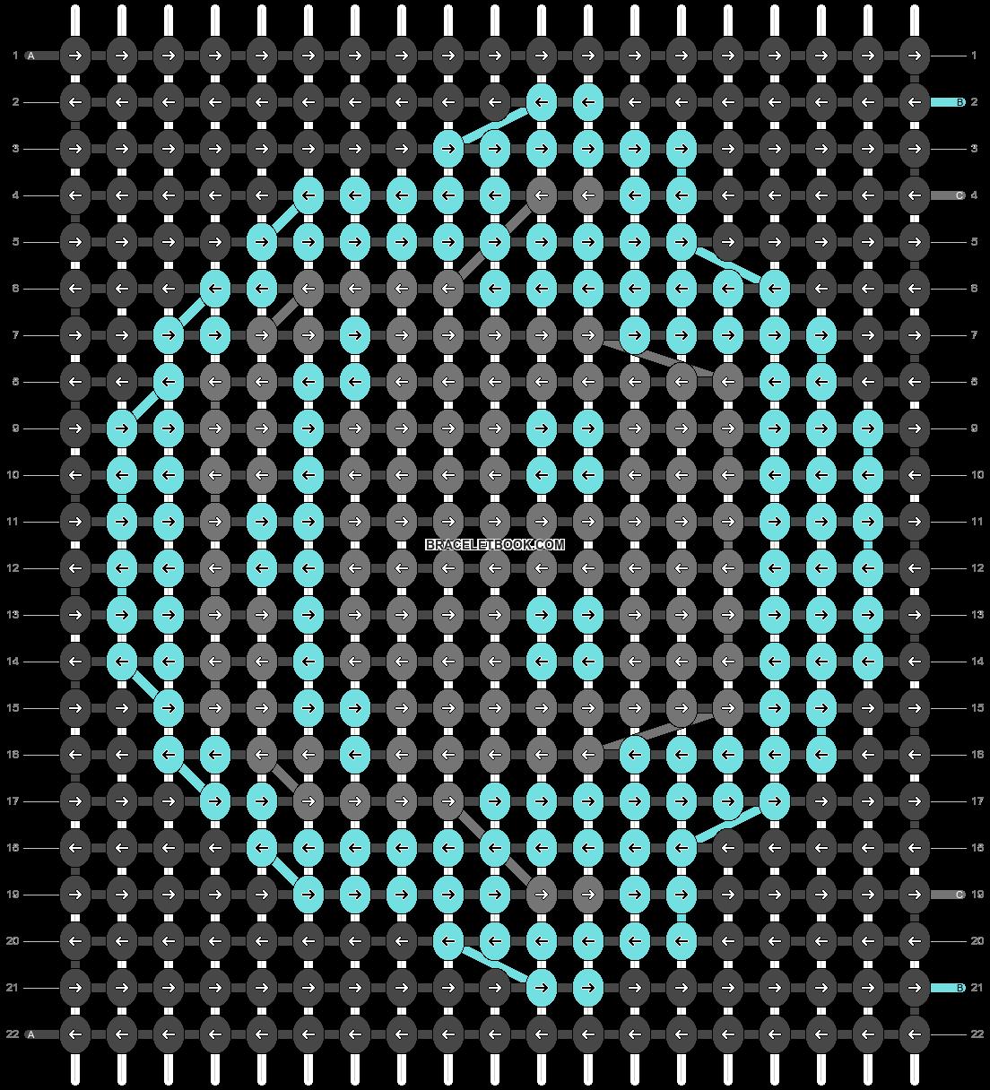 Alpha pattern #19320 pattern
