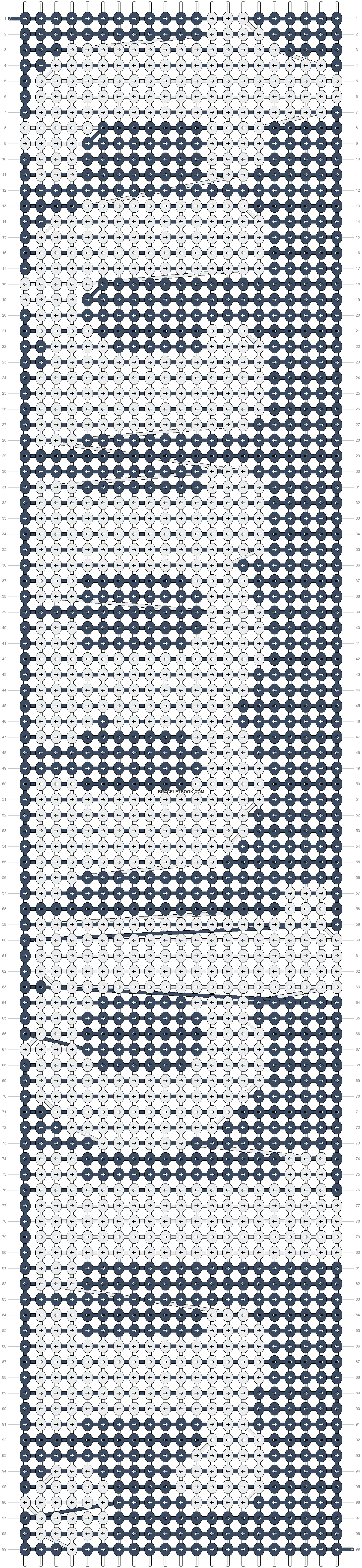 Alpha pattern #19328 pattern