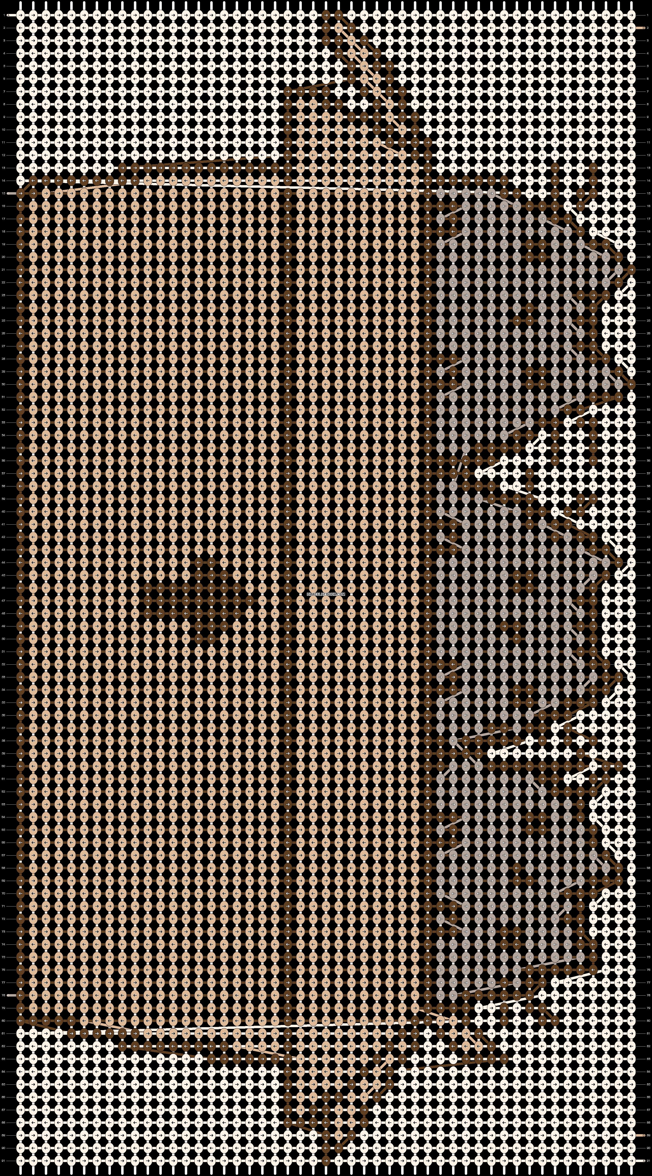 Alpha pattern #19353 pattern