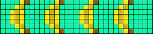 Alpha Friendship Bracelet Pattern #19362