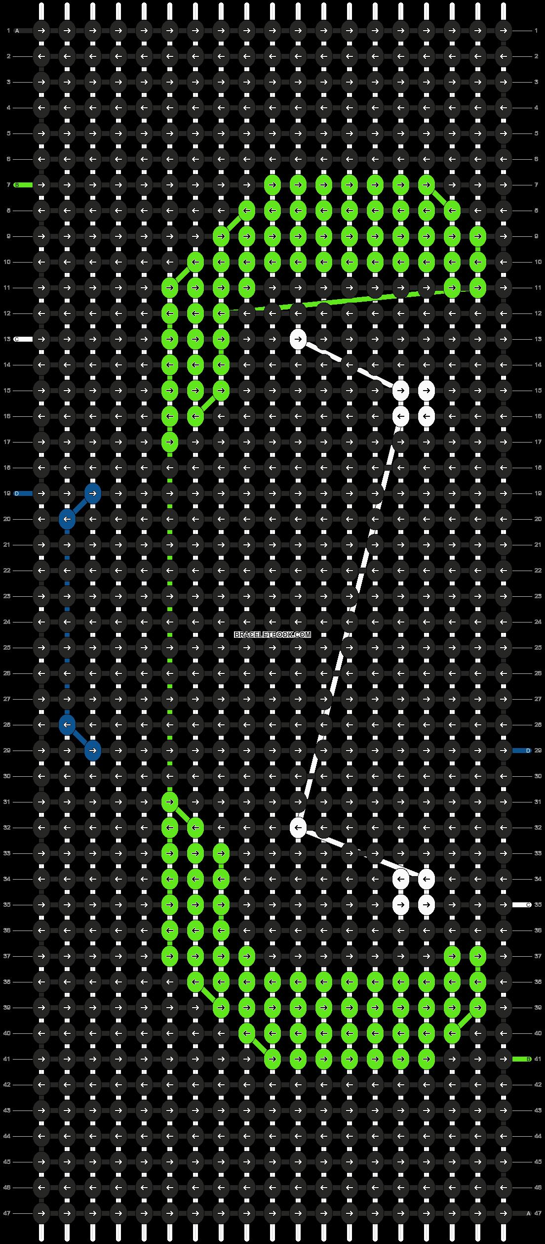 Alpha pattern #19364 pattern
