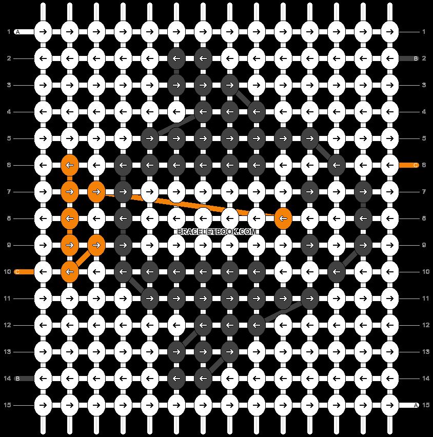 Alpha pattern #19365 pattern