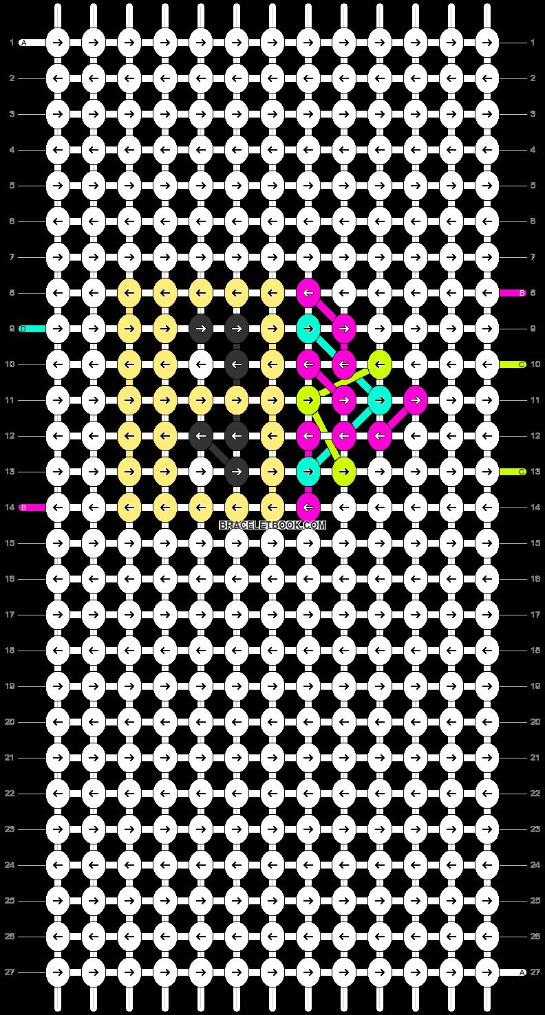 Alpha pattern #19369 pattern