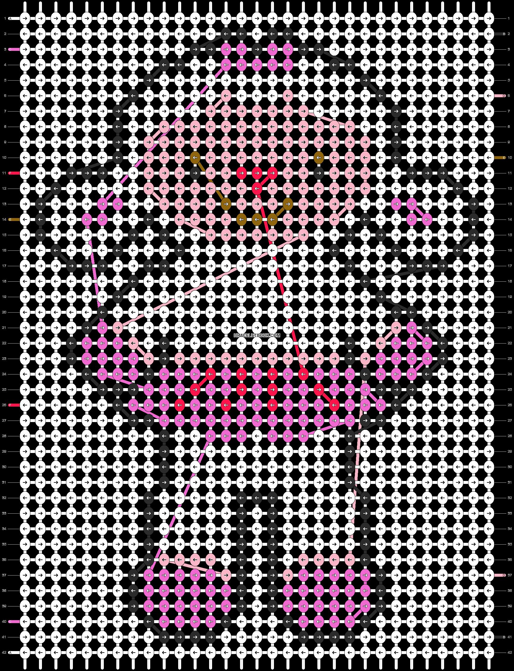 Alpha pattern #19374 pattern