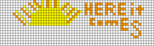 Alpha pattern #19377