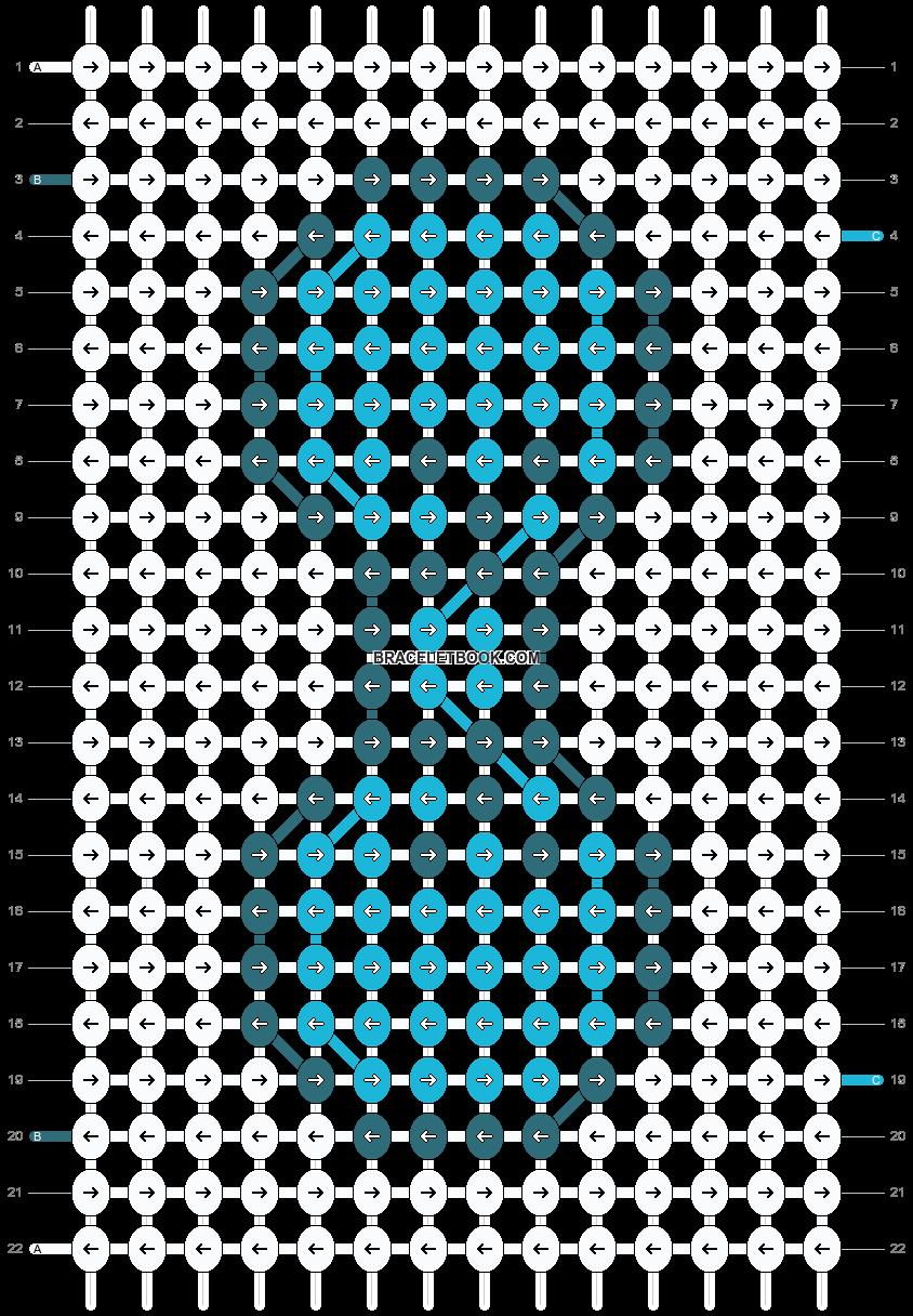 Alpha pattern #19382 pattern