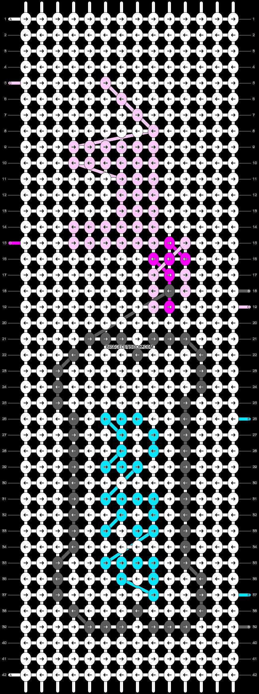 Alpha pattern #19384 pattern