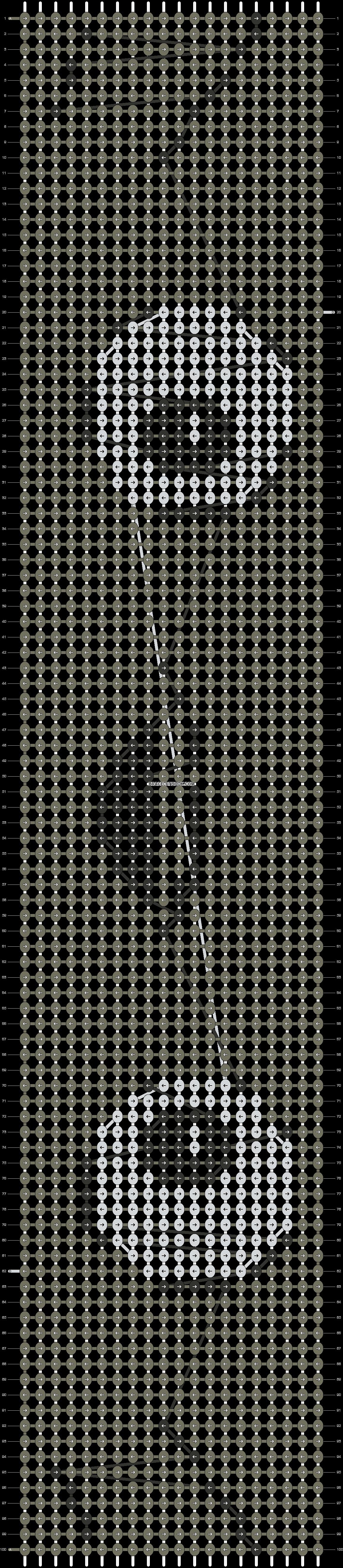 Alpha pattern #19386 pattern