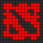 Alpha pattern #19387